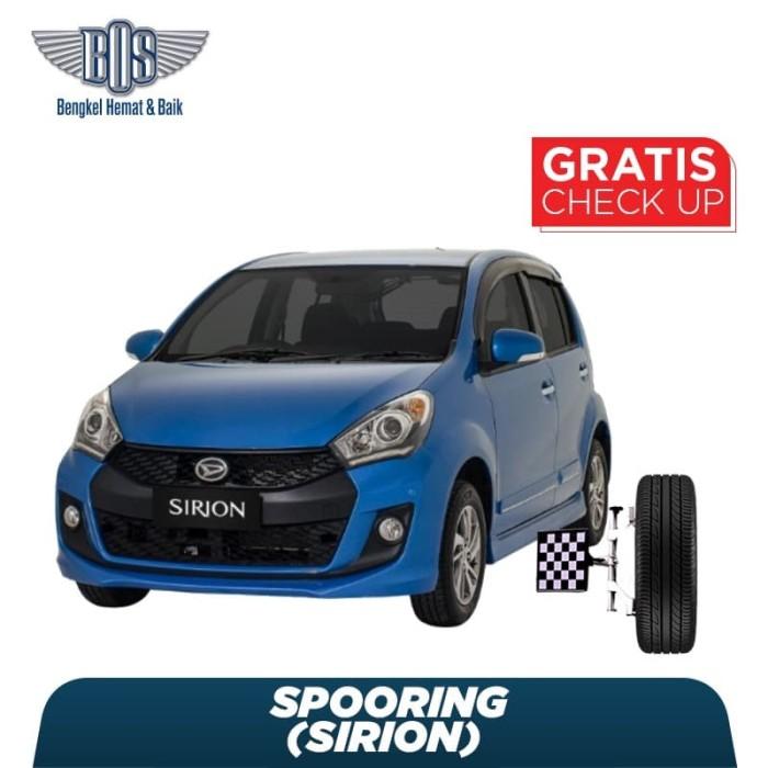 harga Spooring sirion + free check-up 58 komponen kendaraan Tokopedia.com