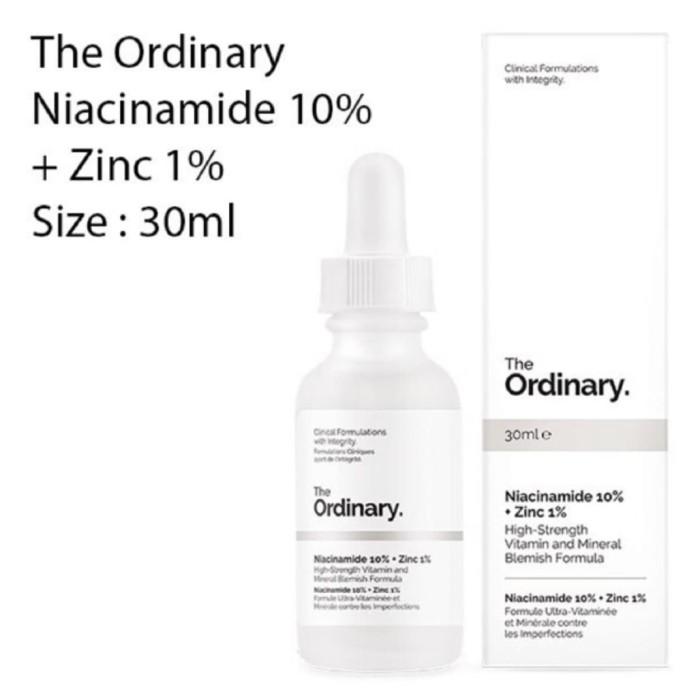 Jual The Ordinary Niacinamide 10 Zinc 1 Full Size 30ml Original 100 Kab Sidoarjo Hyr Shop Tokopedia
