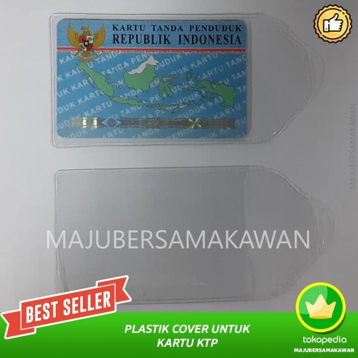 Foto Produk PLASTIK Cover untuk KTP/ID Card dari MAJU BERSAMA KAWAN