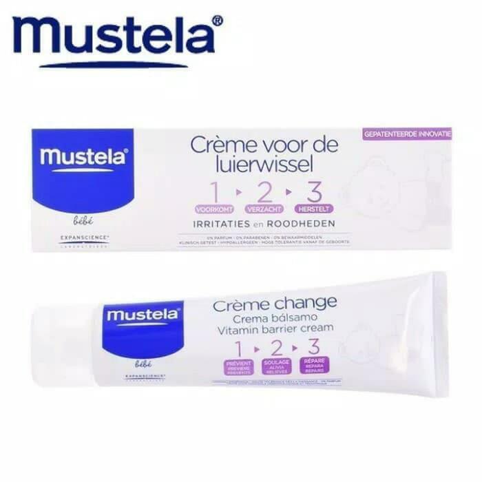 harga P60mbc5a mustela - barrier cream diaper kecil 50 ml / ruam popok Tokopedia.com
