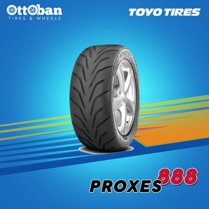 Toyo Proxes R888 >> Jual Ban Toyo Tires Proxes R888 Ukuran 245 40 Zr 18 93 Y Jakarta Pusat Ottoban Indonesia Tokopedia