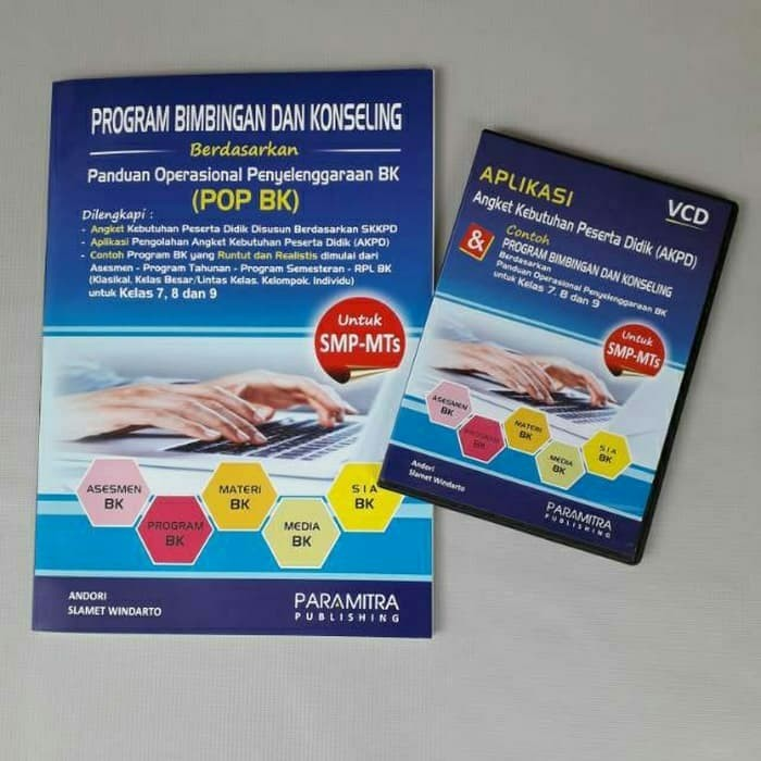 Jual Buku Konseling Pop Bk Smp Aplikasi Angket Kab Sleman Zidanolshop3112 Tokopedia