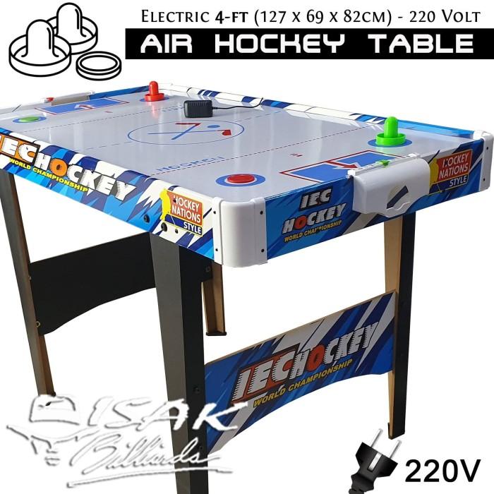 Foto Produk Electric Air Hockey Table 4-ft Mainan Hadiah Anak Meja Kecil Arcade GY dari ISAK Billiard Sport Co.
