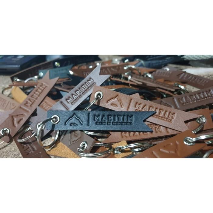 Foto Produk Gantungan Kunci Kulit Premium Leather Keychain Maritim-Small dari Maritim Bag Official