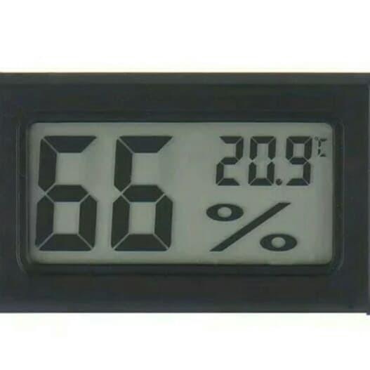 Jual Mini Digital Termometer Higrometer Hidroponik Jamur Ulat Kandang Dki Jakarta Citra Hidroponik Tokopedia