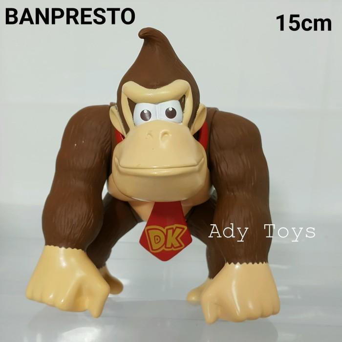 Jual Donkey Kong Figure Original Banpresto Game Super Mario Nintendo 15cm Jakarta Utara Ady Toys Tokopedia