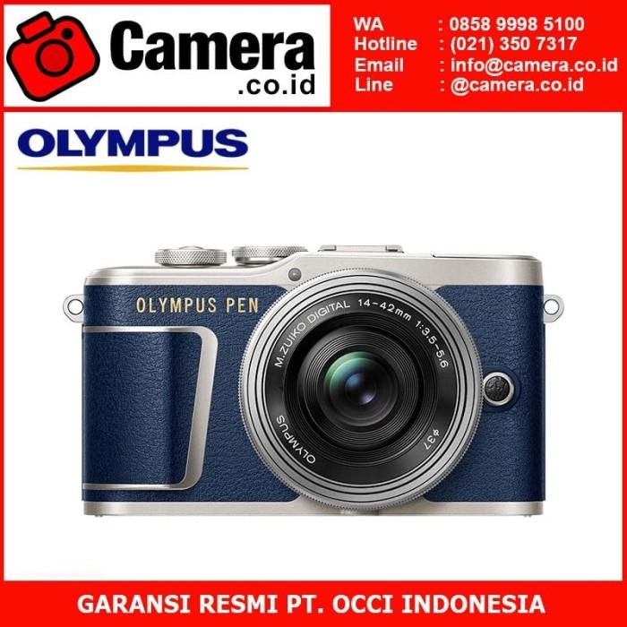 harga Olympus pen e-pl9 kit 14-42mm ez (blue limited edition)+ 45mm f/1.8 Tokopedia.com