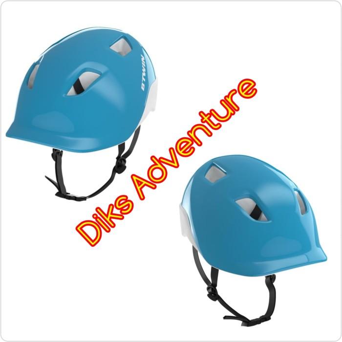 Foto Produk Helm sepeda anak helm anak helm skateboard sepatu roda helm betwin - Biru dari diks adventure