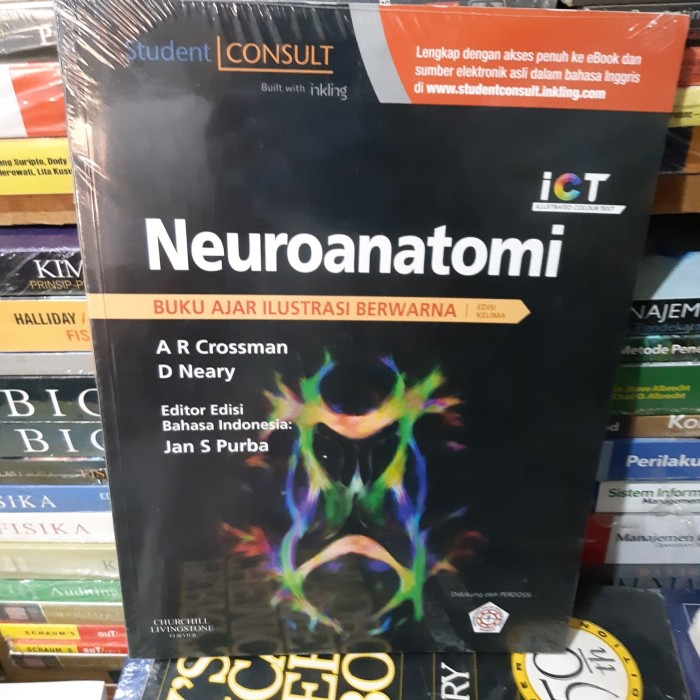 harga Neuroanatomi buku ajar ilustrasi berwarna grossman ict elsevier Tokopedia.com