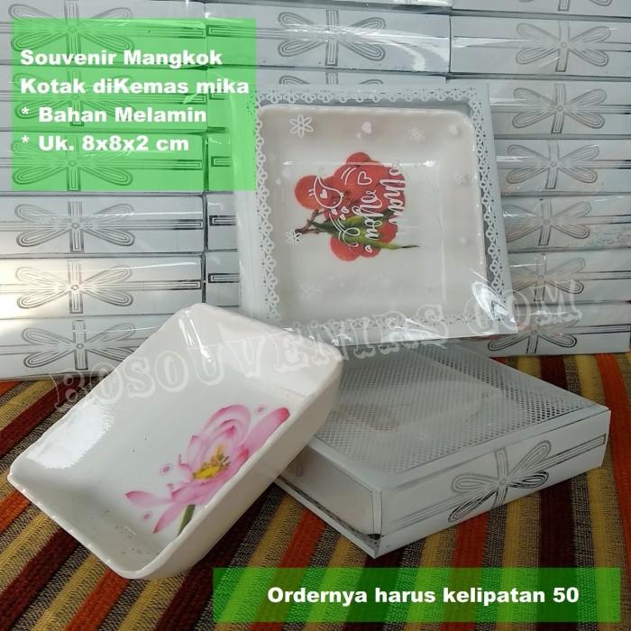 Foto Produk MANGKOK KOTAK dikemas Mika | Souvenir Pernikahan Mangkok sambal dari Souvenirsaripul.sabilah