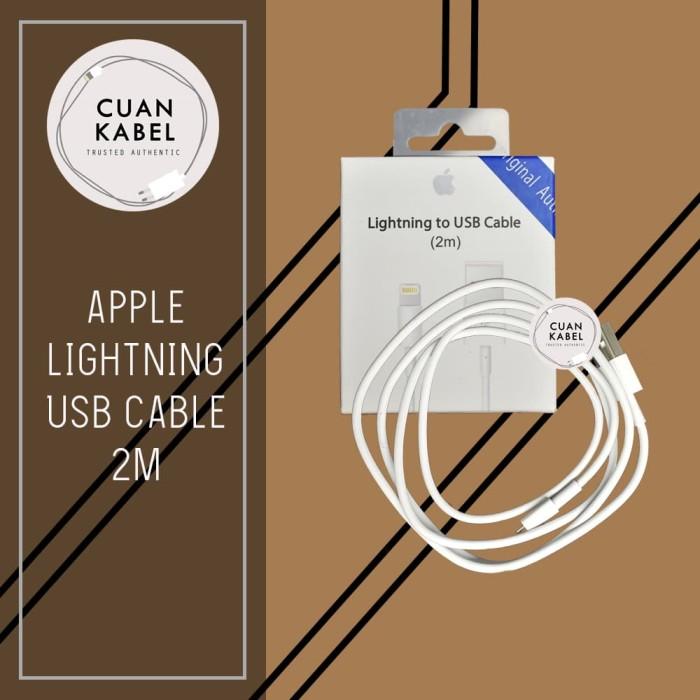 Foto Produk Kabel Charger Iphone 2M Original - Apple Lightning To USB Cable dari cuankabel