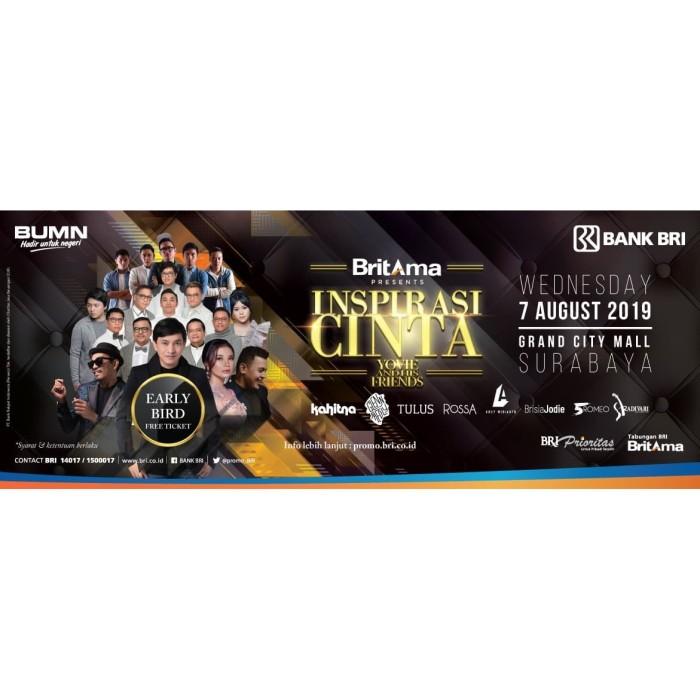 Jual Tiket Konser Inspirasi Cinta Yovie And His Friends Gold Invitation Kota Surabaya Shop Therapy Sby Tokopedia
