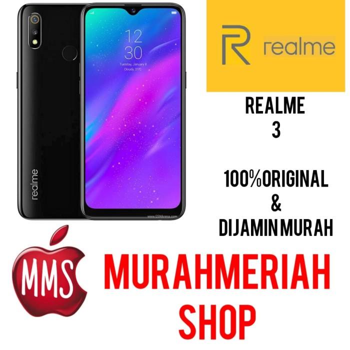 harga Realme 3 4/64 4gb 64gb garansi resmi - biru Tokopedia.com