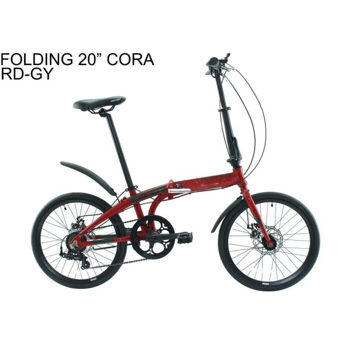 harga Sepeda united folding 20 cora Tokopedia.com