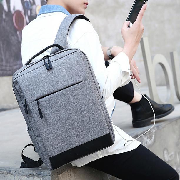 Foto Produk Xiaomi Bag TAS Ransel Backpacks Marc Pria Shoulder Bag laptop Original - Abuwithheadset dari SMARTOOOLS
