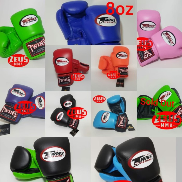 Foto Produk Twins glove 8 oz /sarung tinju dari Zeus MMA