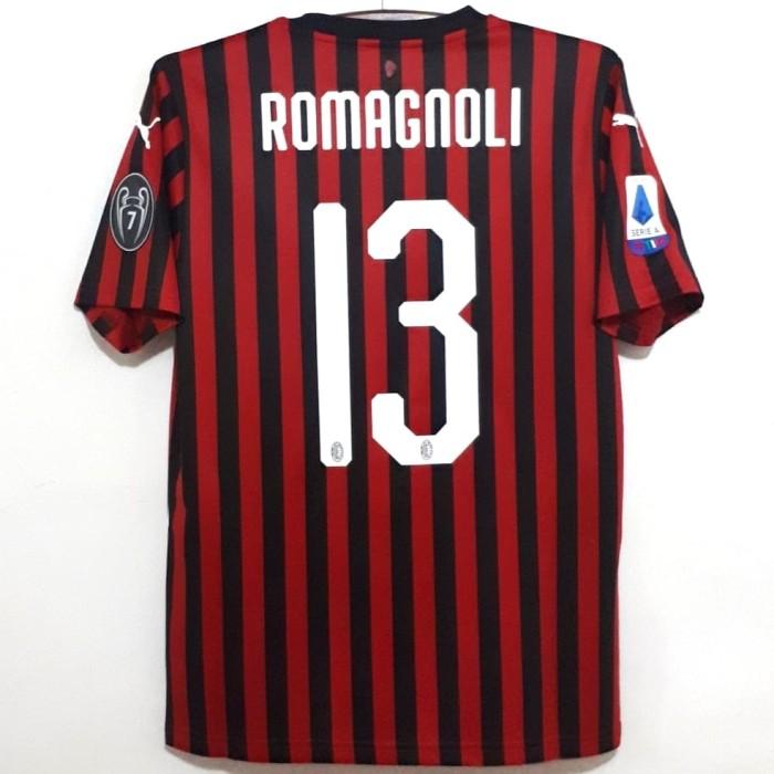 harga Jersey ac milan original 2019-2020 home bnwt romagnoli 13 Tokopedia.com