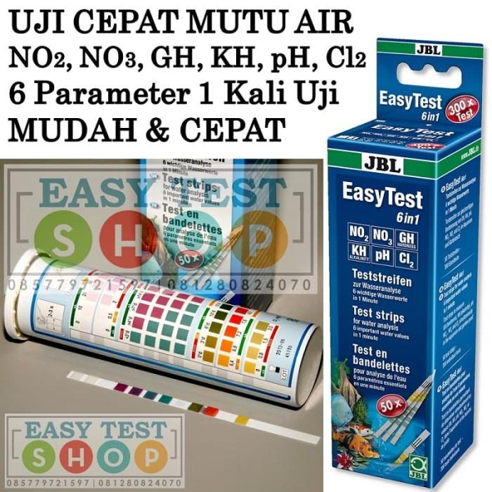 Foto Produk JBL Easy Test 6in1 NO2 NO3 GH KH pH Cl2 Tes Kit - Testkit Cek Mutu Air dari Sooper Shop