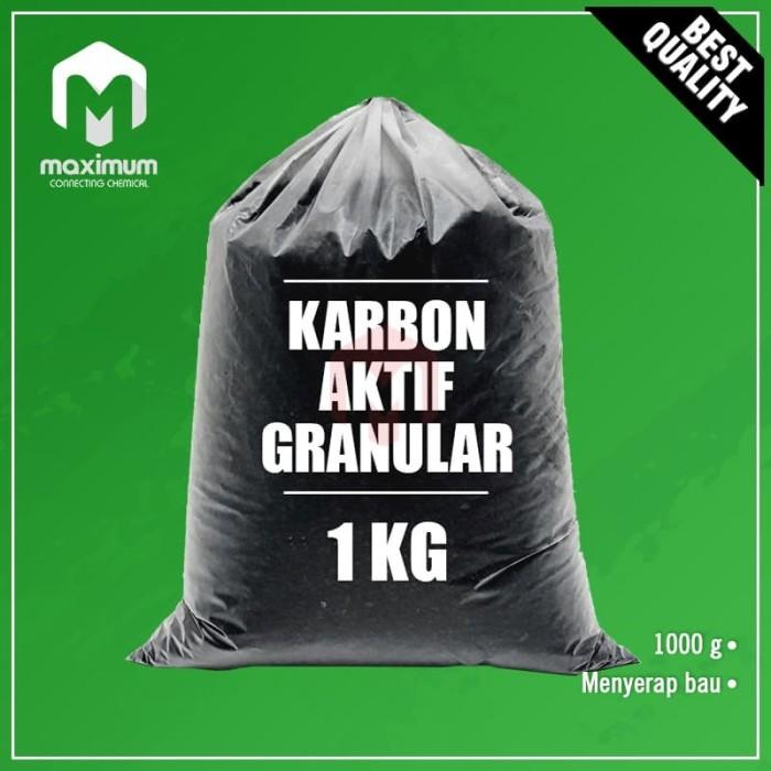 Foto Produk Karbon Aktif / Active Carbon Granular / Granular Activated Carbon 1Kg dari Maximum Chemical