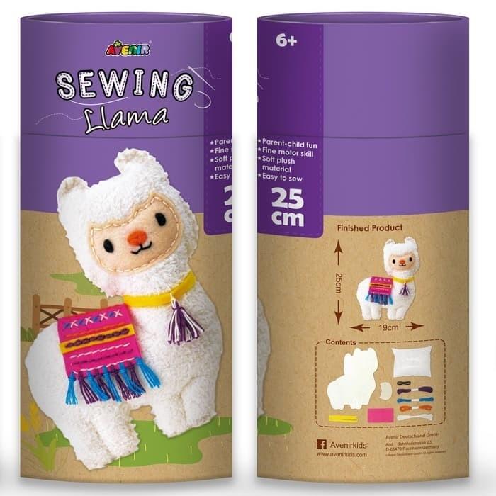 Foto Produk Avenir Sewing Doll Llama Mainan Kreatif Menjahit Boneka Anak dari Mishana Shop