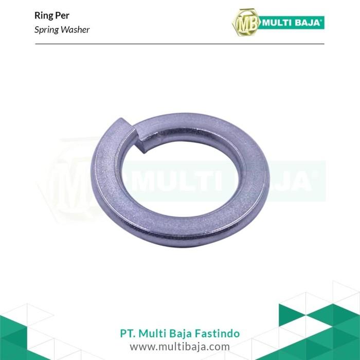 Foto Produk SUS 304 Ring Per (Spring Washer) 1 - 1/2 Inchi dari Multi Baja Fastindo