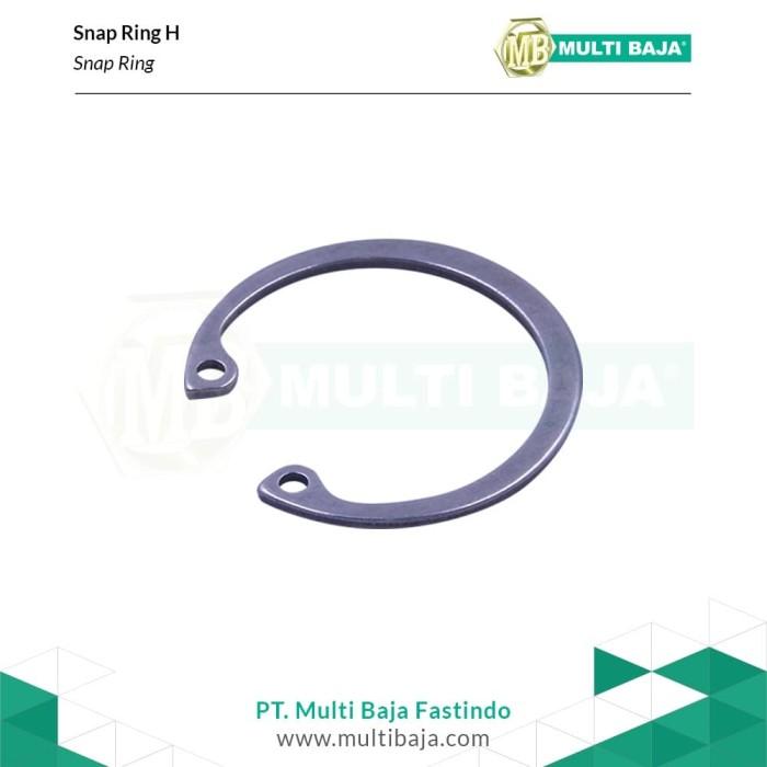 Foto Produk Stainless steel Snap Ring H38 dari Multi Baja Fastindo
