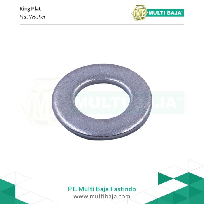 Foto Produk SUS 304 Ring Plat M40 (1-1/2'') x 80 mm( Stainless Steel ) dari Multi Baja Fastindo