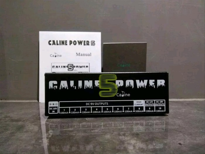 Foto Produk Caline Power Supply pedal CP 05 top collection dari cayadistore