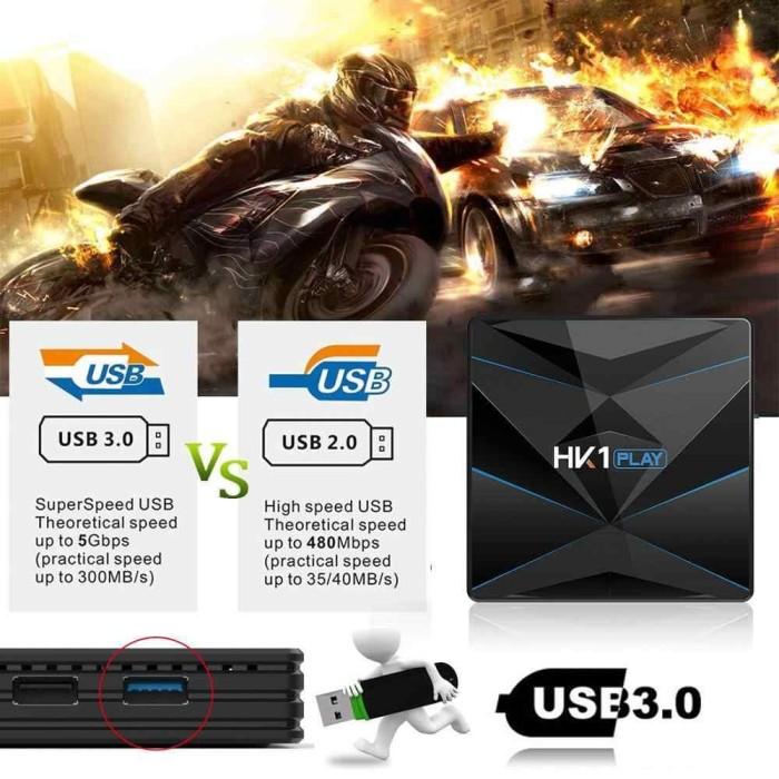 Jual Paket Android Tv Box HK1 PLAY 4GB 64GB + MX3 Air Mouse Keyboard - DKI  Jakarta - Online Audio Store | Tokopedia