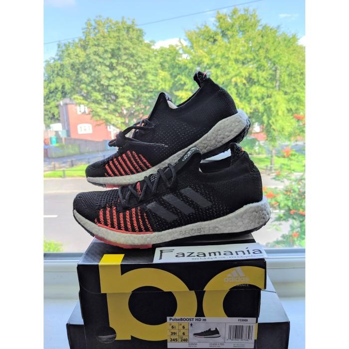 Jual Sepatu Adidas Pulse Boost Hd Black Solar Red Kota Bekasi