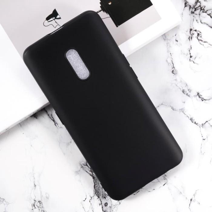 Foto Produk Oppo K3 / Realme X Soft Case Slim Black Matte dari factory acc