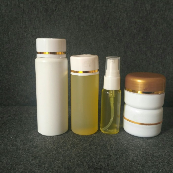 Foto Produk paket whitening anti keriput 5 in1 serum flek non label dari TEPSKINCARE TANGERANG