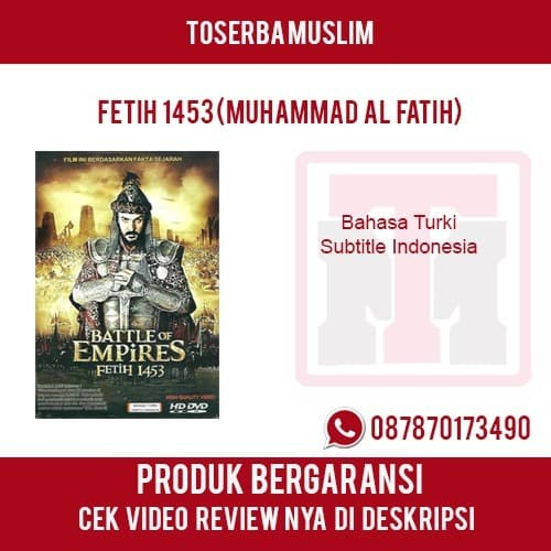 harga Dvd film islam original -  fetih 1453  (sang penakluk konstantinopel) Tokopedia.com