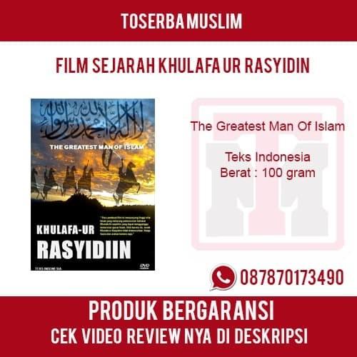 harga Film sejarah islam - khulafaur rasyidin - the greatest man of islam Tokopedia.com