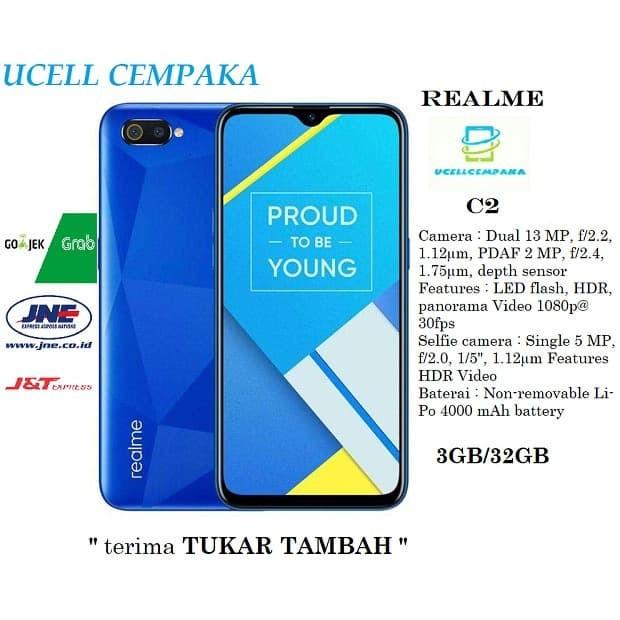 harga Realme c2 - 3gb/32gb - garansi resmi Tokopedia.com