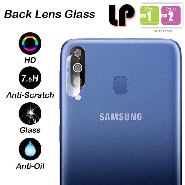 Foto Produk LP Camera Tempered Glass Samsung Galaxy M30 - Cover Lens Kaca Clear dari Logay Accessories