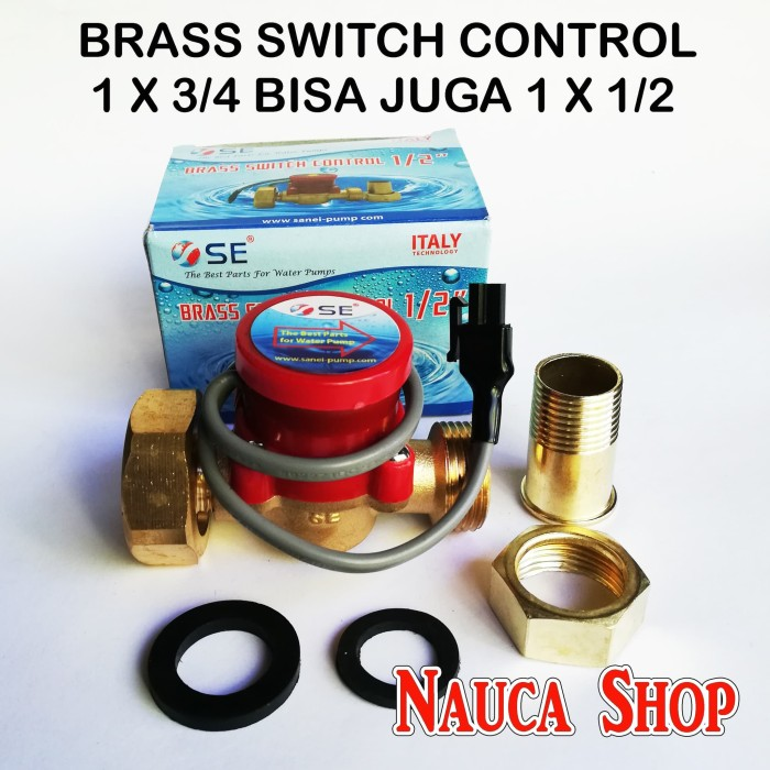harga Brass switch control / water flow switch / spare part pompa air Tokopedia.com