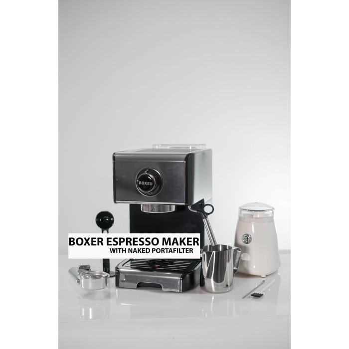 Jual BOXER Espresso Maker Mesin Kopi Espresso Machine