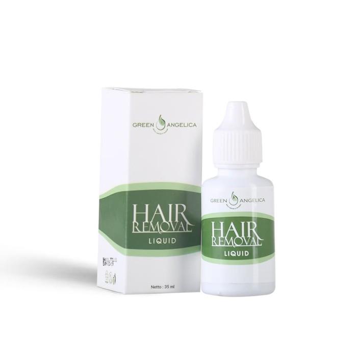 Foto Produk Perontok Bulu Permanen Green Angelica Hair Removal Liquid dari Green Angelica Herbal