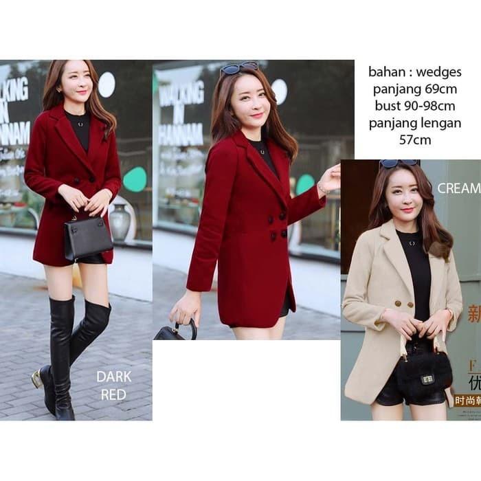 Foto Produk Coat Blazer (W346) dari Ichelle Store