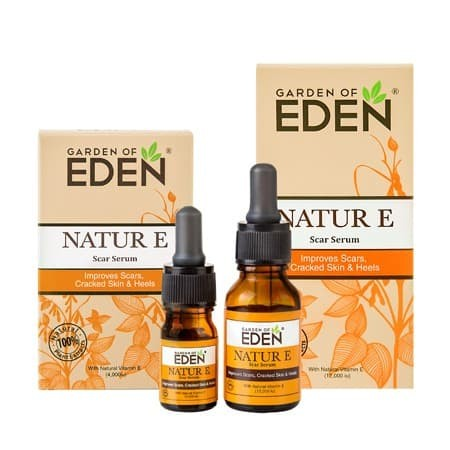 Foto Produk NATUR E SCAR SERUM 12000 IU natural vitamin E obat jerawat luka keloid dari Sentral Stationery