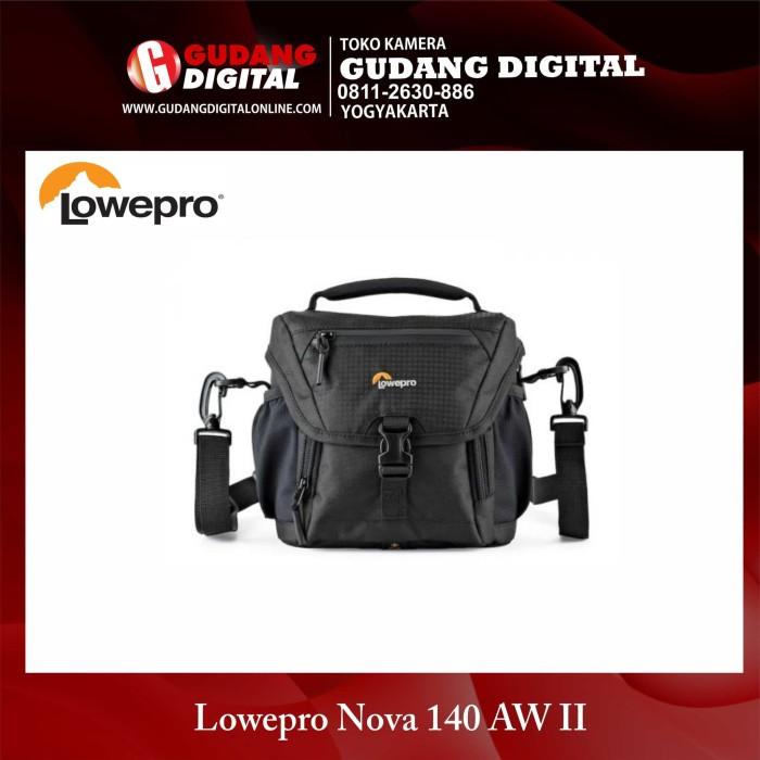 harga Tas kamera shoulder bag lowepro nova 140 aw ii for dslr and mirrorless Tokopedia.com
