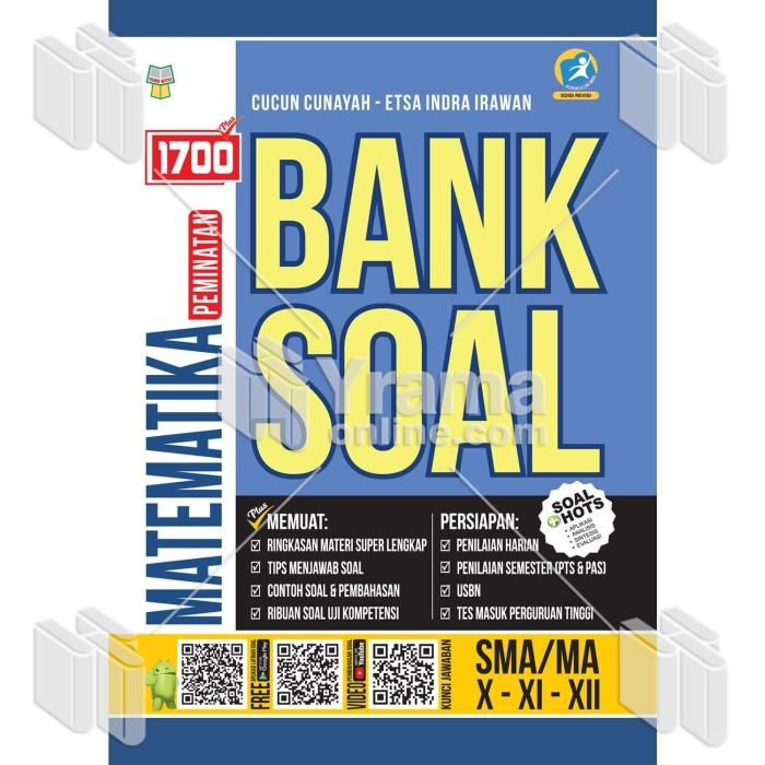 Foto Produk BUKU 1700 PLUS BANK SOAL MATEMATIKA PEMINATAN SMA/MA dari Yrama Widya Online