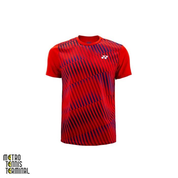 harga Yonex men round neck t-shirt 1426 ( kaos olahraga badminton ) - s Tokopedia.com