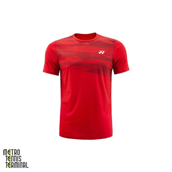 harga Yonex men round neck t-shirt 1458 ( kaos olahraga badminton ) - xxl Tokopedia.com