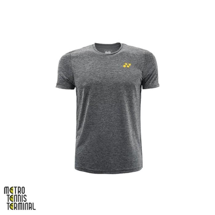 harga Yonex men round neck t-shirt 1445c ( kaos olahraga badminton ) - m Tokopedia.com
