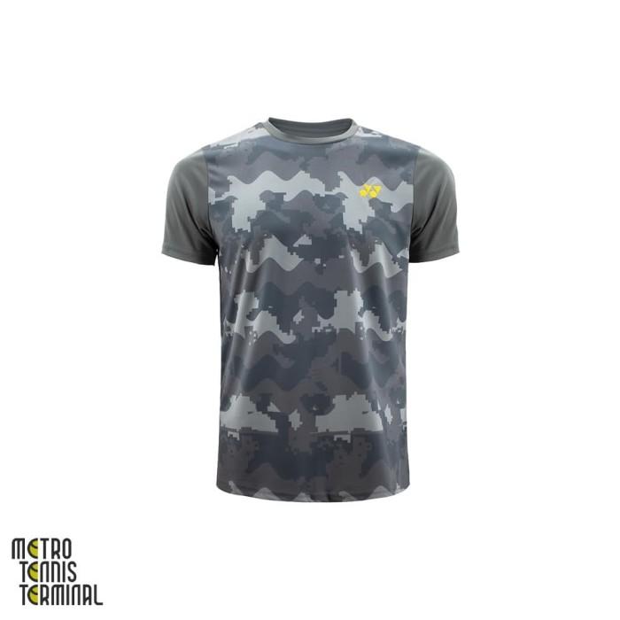 harga Yonex men round neck t-shirt 1459 ( kaos olahraga badminton ) - l Tokopedia.com