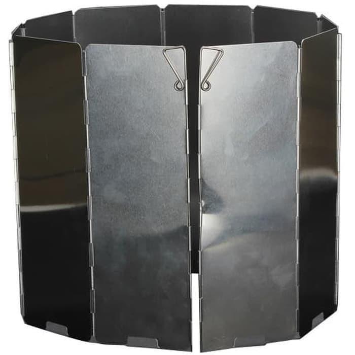 Foto Produk camping stove windshield - penahan angin besar untuk kompor camping dari Aev adventure