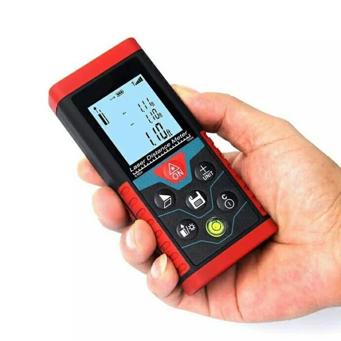 Foto Produk 100m Laser Distance Digital Meteran Pengukur Jarak Jauh Meter NO bosch dari chi-chi store