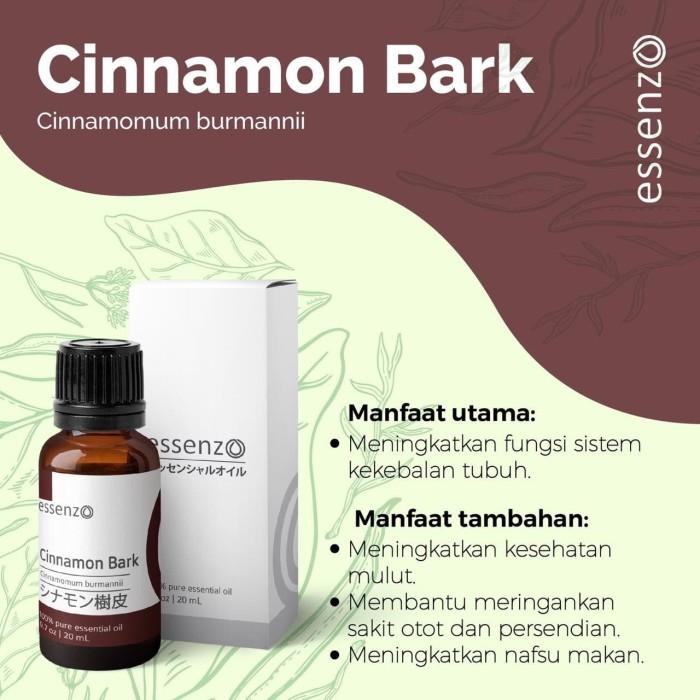 Foto Produk CINNAMON BARK ESSENTIAL OIL (Fungsi sistem kekebalan tubuh) dari zasuci